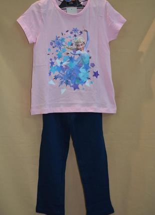 Пижама детская на девочку lupilu размер 4-6 лет