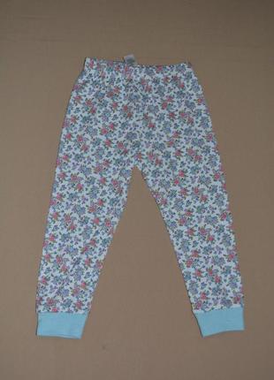 Штаны для сна хлопок george размер 2-3 года