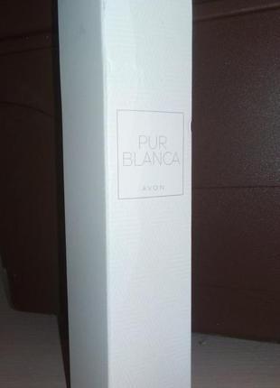 Туалетная вода pur blanca 50 ml, avon