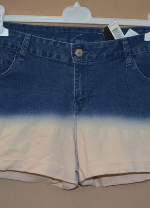 Шорты женские джинсовые esmara размер l