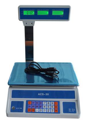 Весы торговые ACS-798