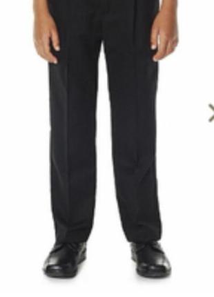 Школьные брюки для мальчика f&f англия размер 9-12 лет