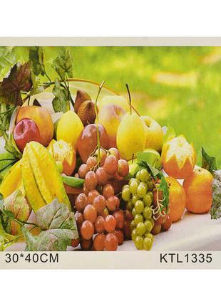 """Картина по номерам KTL 1335 (30) """"Натюрморт"""", 30х40см, в коробке"""