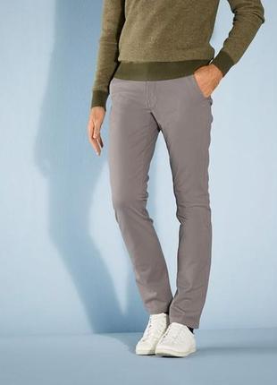 Мужские хлопковые брюки livergy размер 52 евро