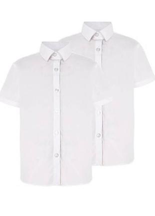 Рубашка школьная для девочки george англия размер 11-13 лет
