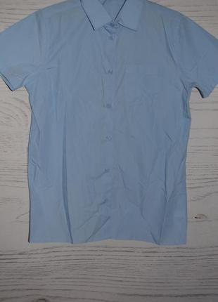 Рубашка школьная для девочки f&f англия размер 13-14 лет
