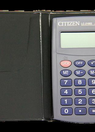 210 калькулятор Citizen