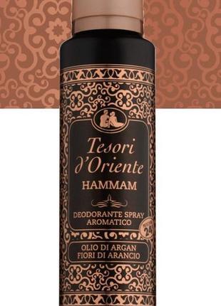 "Дезодорант-спрей ""хаммам"" tesori d'oriente hamman deodorante s..."