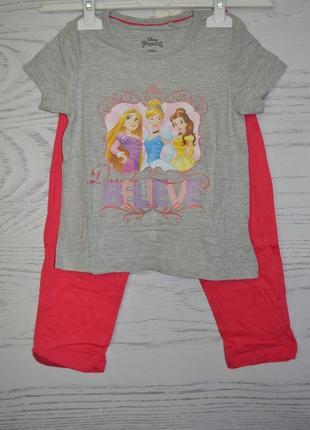 Пижама детская для девочки lupilu размер 2-4 года
