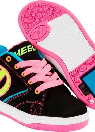 Роликовые кроссовки heelys propel оригинал размер 32