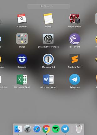 Установка системы, MacOS, программ, настройка