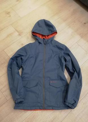 Куртка детская двухсторонняя демисезон decathlon размер 10-12 лет