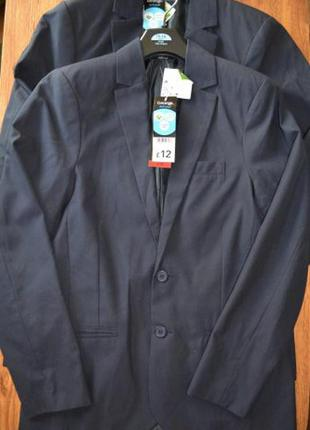 Пиджак школьный для мальчика размер 15-16 лет george