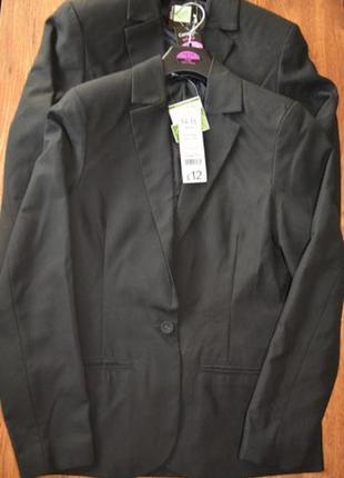 Пиджак школьный для девочки размер 15-16 лет george
