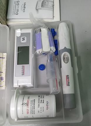 Глюкометры и анализаторы крови Б/У Gamma Mini