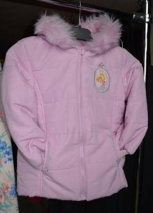 Куртка еврозима для девочке 5-6 лет