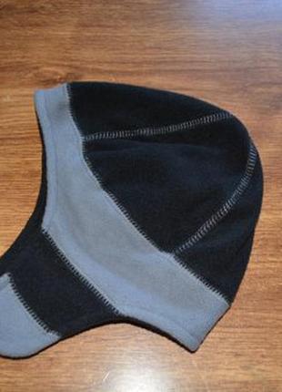 Флисовая шапка для мальчика размер 2-4 года