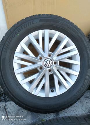 Диски литые Volkswagen Passat VW T-ROC Jetta Touran Golf R16