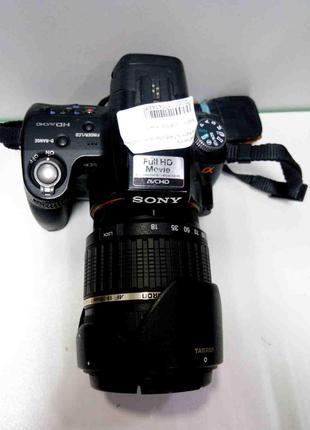 Фотоаппараты Б/У Sony Alpha SLT-A35 + Tamron AF 18-200mm f/3.5...