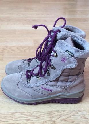 Зимние термо ботинки lowa германия с мембраной gore-tex 34 раз...