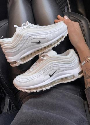 Кроссовки женские 🔥 nike air max 97 white