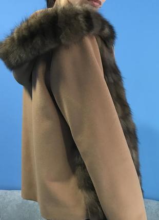 Соболь. шуба. шуба- пальто из соболя. новое.
