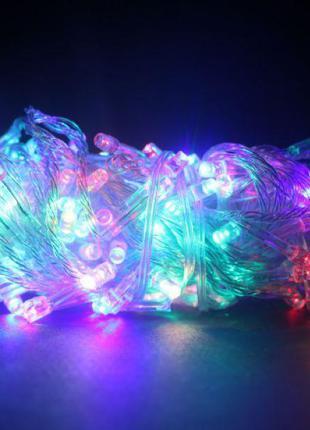 Гирлянда светодиодная Xmas LED 200 М-1 Мультицветная