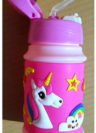 Бутылка для воды Единорог 350мл.