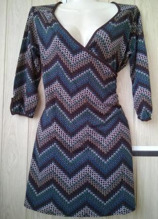 Удобная стильная туника new look джемпер кофта блуза/м/вискоза