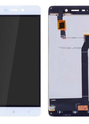 Дисплей Xiaomi RedMi 4 + сенсор белый