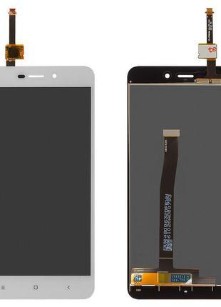 Дисплей Xiaomi RedMi 4а + сенсор белый