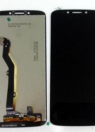 Дисплей Moto G6 Play XT1922 + сенсор черный