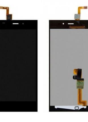 Дисплей Xiaomi Mi3 + сенсор черный