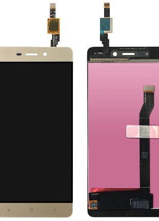 Дисплей Xiaomi RedMi 4 + сенсор золотой