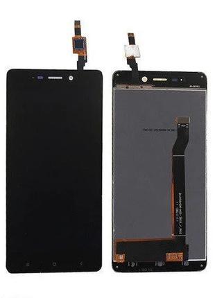 Дисплей Xiaomi RedMi 4 + сенсор черный