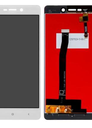 Дисплей Xiaomi RedMi 3 / 3S + сенсор белый