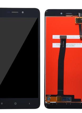 Дисплей Xiaomi RedMi 4а + сенсор черный