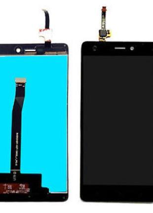Дисплей Xiaomi RedMi 3X / 3 Pro + сенсор черный