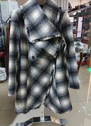 Пальто кашемир шерсть демисезонное к48,50