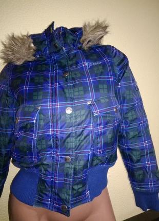 Куртка зимняя рост 140 см