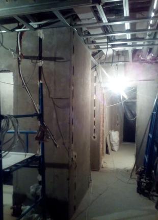 Монтаж электропроводки в квартире, доме, офисе, ...