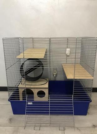 Клетка для грызунов (шиншилл\морских свинок\дегу )