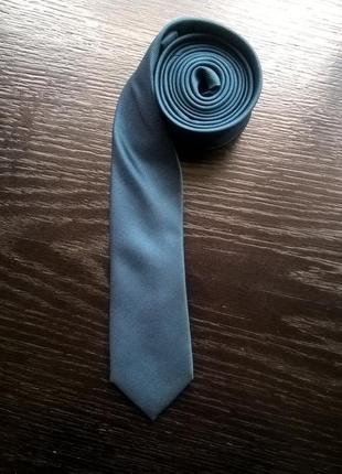 Узкий галстук next, цвет морской волны.