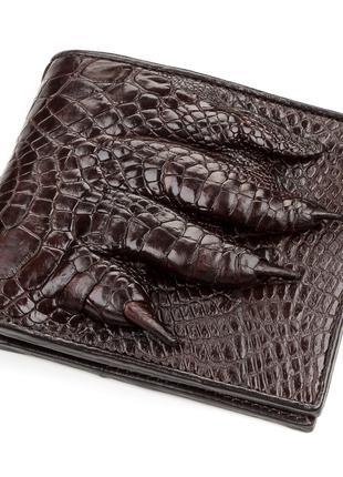 Портмоне CROCODILE LEATHER 18196 из натуральной кожи крокодила...
