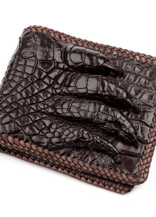 Портмоне CROCODILE LEATHER 18229 из натуральной кожи крокодила...