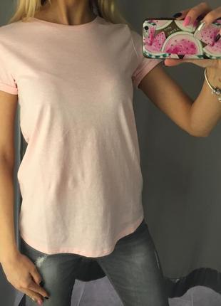 Базовая одно ногая футболка. amisu. размер хс.
