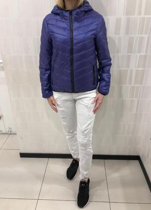 Демисезонная куртка на синтепоне стёганная курточка. amisu. ра...