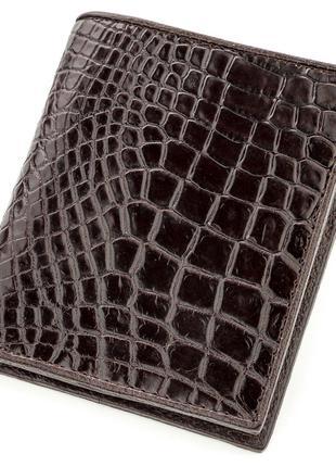 Портмоне CROCODILE LEATHER 18529 из натуральной кожи крокодила...