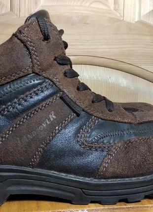 Мужские зимние кожаные ботинки landrover 42 р.