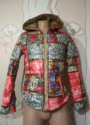 Яркая цветная куртка весна / осень курточка демисезон